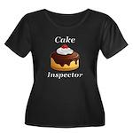 Cake Ins Women's Plus Size Scoop Neck Dark T-Shirt