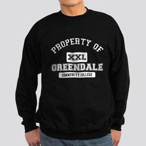 Property of Greendale Sweatshirt (dark)