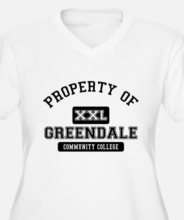 Property of Greendale Plus Size T-Shirt