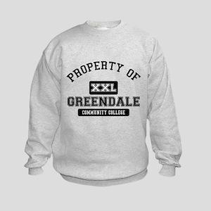 Property of Greendale Kids Sweatshirt