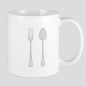 Fork & Spoon Mugs