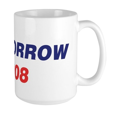 MORROW 2008 (checkbox) Large Mug