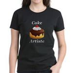 Cake Artiste Women's Dark T-Shirt