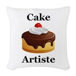 Cake Artiste Woven Throw Pillow