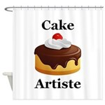 Cake Artiste Shower Curtain