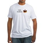 Cake Goddess Fitted T-Shirt