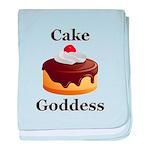 Cake Goddess baby blanket