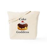Cake Goddess Tote Bag