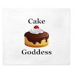 Cake Goddess King Duvet