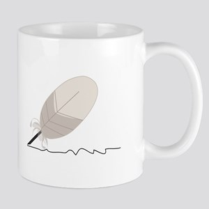 Feather Quill Mugs
