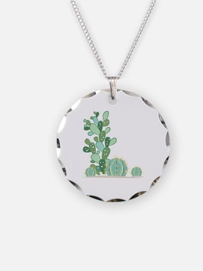 Cactus Plants Necklace