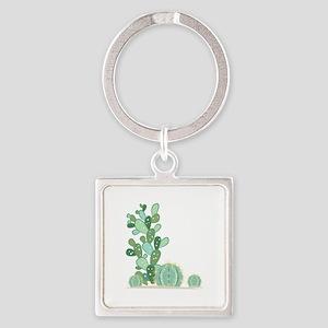 Cactus Plants Keychains