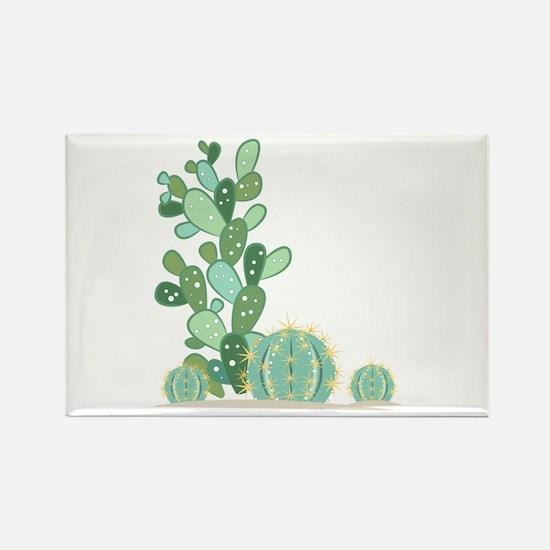 Cactus Plants Magnets