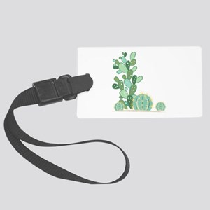 Cactus Plants Luggage Tag