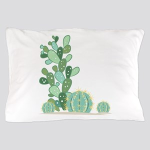 Cactus Plants Pillow Case