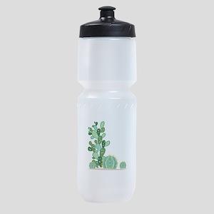 Cactus Plants Sports Bottle