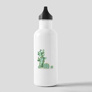 Cactus Plants Water Bottle