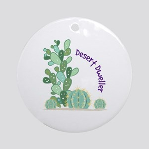 Desert Dweller Ornament (Round)