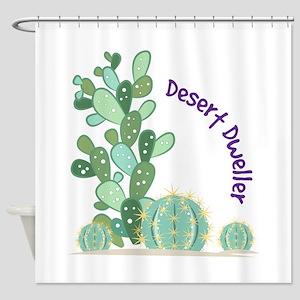 Desert Dweller Shower Curtain