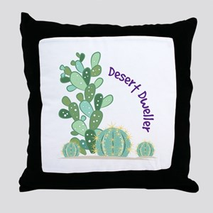 Desert Dweller Throw Pillow