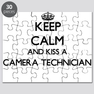 Keep calm and kiss a Camera Technician Puzzle