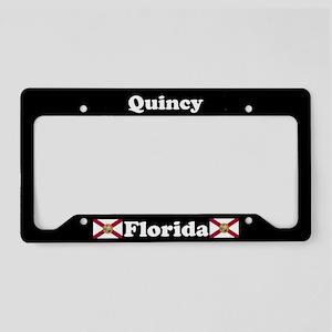Quincy, FL License Plate Holder