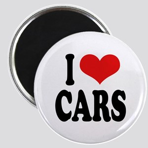 I Love Cars Magnet