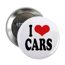 I Love Cars Button
