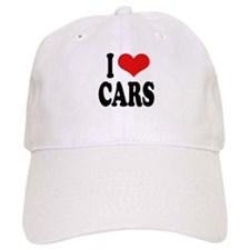 I Love Cars Cap