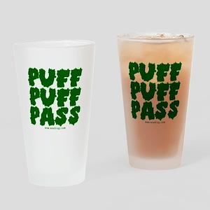 Puff Puff Pass Drinking Glass