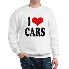 I Love Cars Sweatshirt