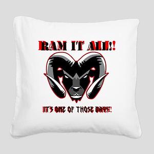 RAM_IT Square Canvas Pillow