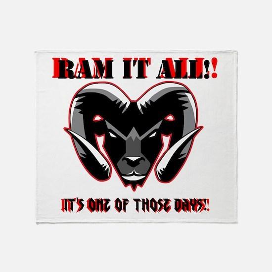 RAM_IT Throw Blanket