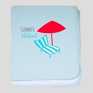 Summer Hideout baby blanket