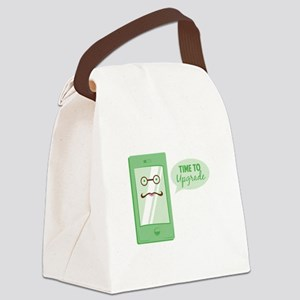 Time To Upgrade Canvas Lunch Bag