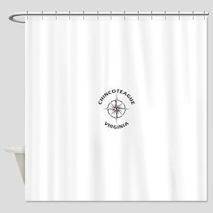 Virginia - Chincoteague Shower Curtain