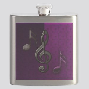 Notes clef de Sol by Bluesax Flask