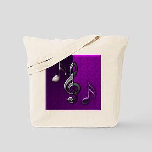 Notes clef de Sol by Bluesax Tote Bag