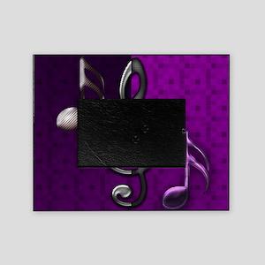 Notes clef de Sol by Bluesax Picture Frame