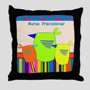 Nurse Practitioner Throw Pillow