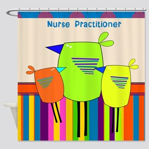 Nurse Practitioner Shower Curtain