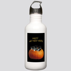 Cute Halloween puppies Stainless Water Bottle 1.0L