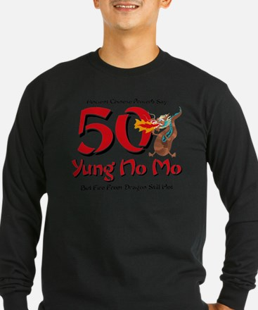 Yung No Mo 50th Birthday Dark Long Sleeve T-Shirt