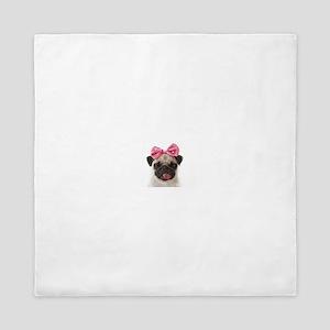Pug Queen Duvet