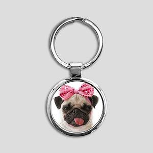 Pug Keychains