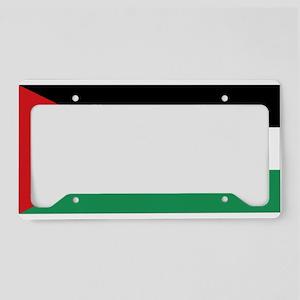 Flag of Jordan License Plate Holder