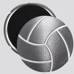 Silver Volleyball Classic Magnets