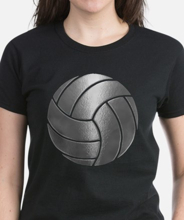 Silver Volleyball Classic T-Shirt