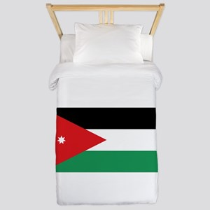 Flag of Jordan Twin Duvet