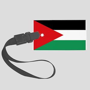 Flag of Jordan Large Luggage Tag